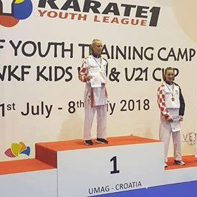 Lea Vukoja osvojila zlatno odličje na KARATE1 YOUTH LEAGUE - UMAG 2018!!!